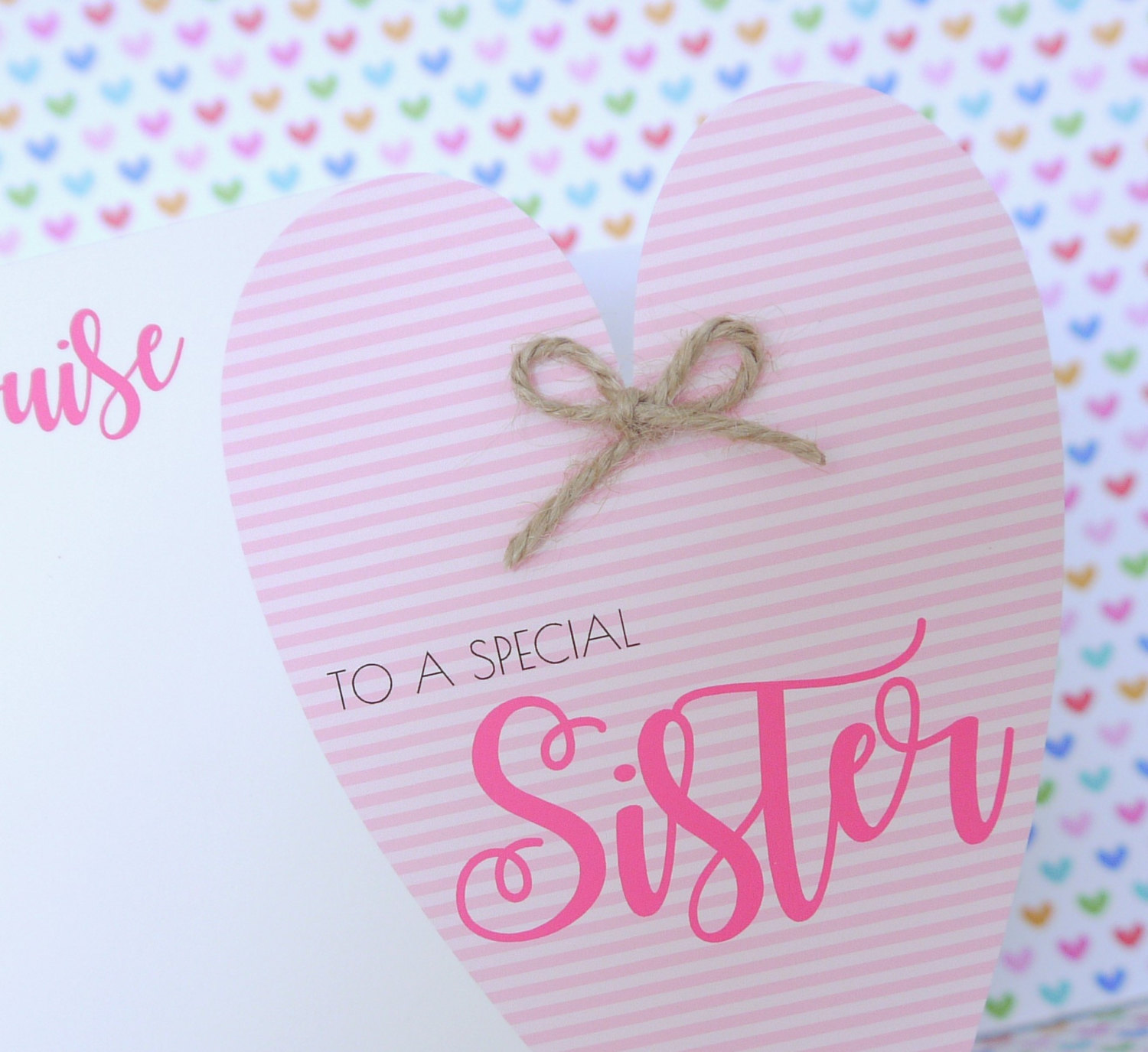 Personalised handmade birthday card friend sister mum nanny personalised handmade birthday card friend sister mum nanny auntie daughter bookmarktalkfo Image collections